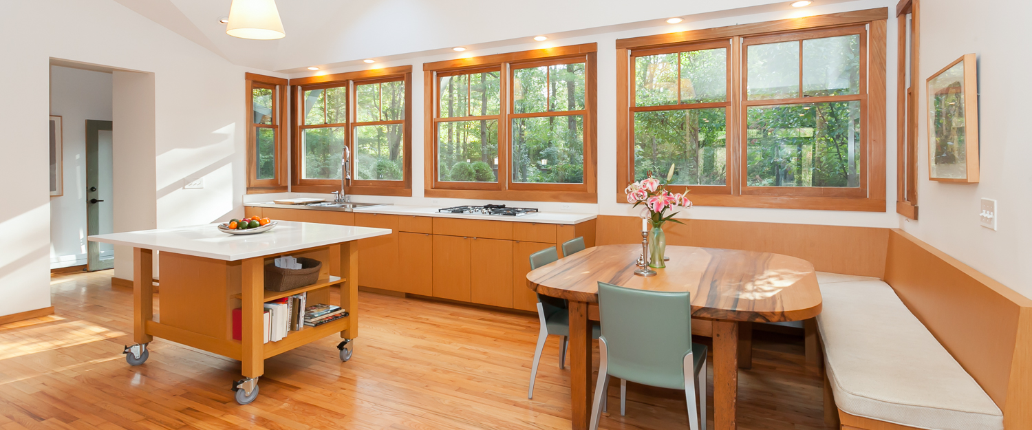 Eclectic Nature Kitchen